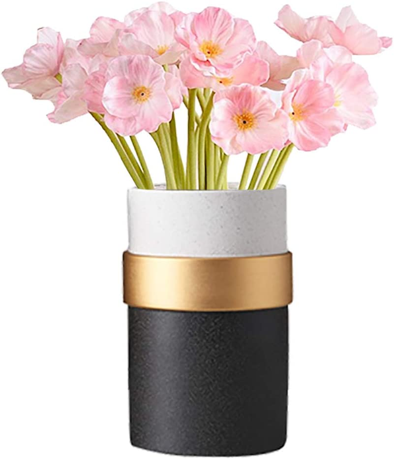 kaimimei Artificial Poppy Flowers Fake Decorative Flower Courier mart shipping free