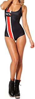 One Piece Monokini Swimsuit - Womens Sexy Beach Tatooine Swimsuit Teddy One Piece Digital Printed Swimsuit