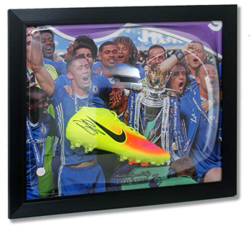 Gary Cahill Chelsea FC Fußballschuh, handsigniert