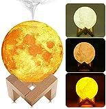 SLS SHOP lámpara luna humidificador lámpara mesa Moon Light