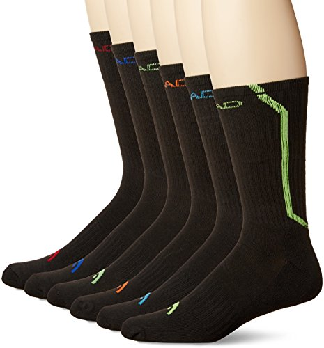 men's socks (Black-Colorblock)