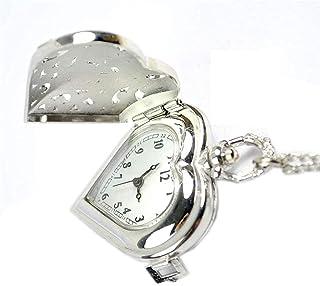 MQJ Vintage Style Hollow Silder Pocket Watch Hommes Et Femmes Gravure Créative Simple Working Pocket Watch