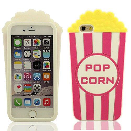 Desconocido Palomitas de maíz Forma Gel de Silicona Suave Funda Protectora iPhone 6 / 6S 4.7 Pulgada Cubierta Protectora