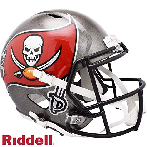 Tampa Bay Bucs Riddell Full Size Speed Deluxe Replica Football Helmet - 2020 Logo - New in Riddell Box