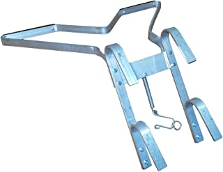 Ladder Stabilizer Standoff with Rung Hook V-Shaped Wing on Walls Corners Poles for Wooden Aluminum Ladders Safety