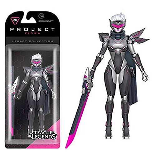 League of Legends - Figurine Legacy Collection Fiora (Project Skin) 15 cm
