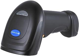バーコードスキャナー ハンドヘルド1D レーザー式 USB 120回/秒サポート 自動手動スキャン 双方向光学ガラス 店舗 オフィス 物流 倉庫 図書館などに適用