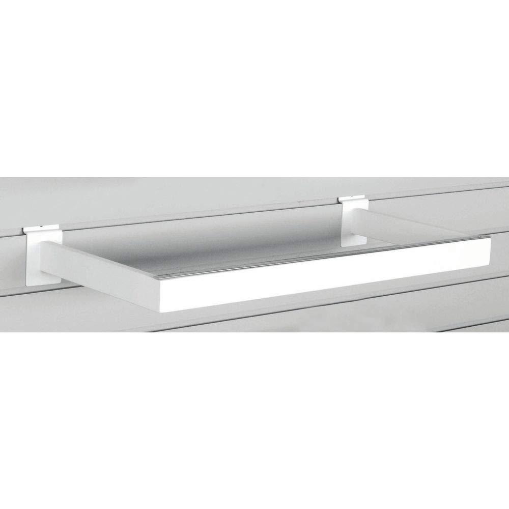 Slatwall U-Shaped Hangrail White It is very popular Popular popular L Rectangular 21