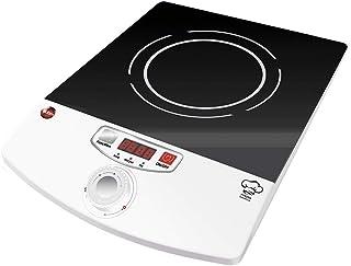 eldom Placa de Cocina de Inducción Portátil, PI100, 2000W, 18cm de Diametro
