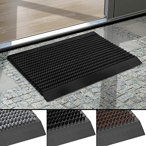 Floordirekt, Power Brush, deurmat, zeer goed, met aluminium frame, voor binnen en buiten