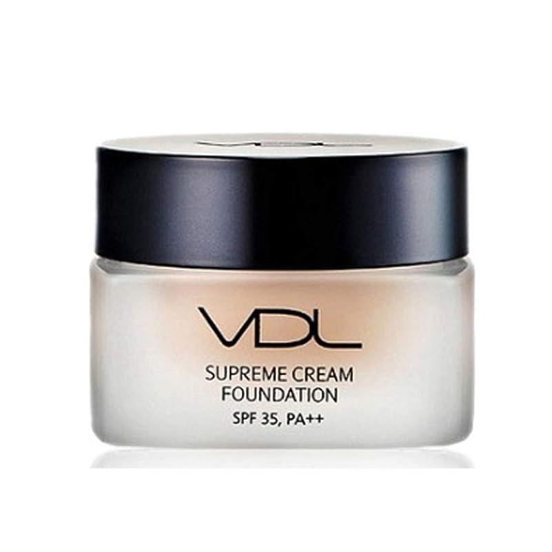 装備するちなみににぎやかVDLスプリームクリームファンデーション30ml SPF35 PA++ 4色、VDL Supreme Cream Foundation 30ml SPF35 PA++ 4 Colors [並行輸入品] (A02)