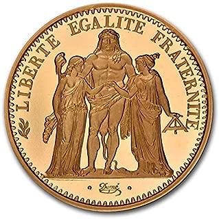 1971 FR France Gold 10 Francs Piedfort Hercules PF-69 Cameo NGC Gold PF-69 NGC