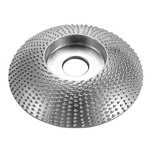 lqgpsx Meule d'angle en Bois, diamètre 3,3 '[84 mm] x alésage 5/8' [16 mm] - Accessoire de meuleuse d'angle à Bois pour DeWalt, Bosch, Milwaukee, Makita