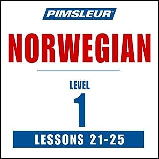 Pimsleur Norwegian Level 1 Lessons 21-25 audiobook cover art