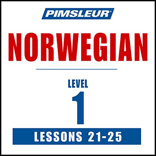 Pimsleur Norwegian Level 1 Lessons 21-25 audiobook cover art
