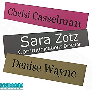 Personalized Name Plate - No Holder - 2x8 - Customize
