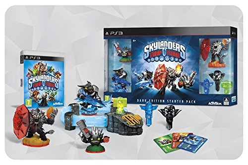ACTIVISION Skylanders Trap Team - Dark Edition - Including Kaos Trap And Dark Wildfire, Dark Snap Shot And Dark Food Fight Figures (PS3) [Playstation 3]