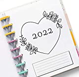 2022 Monthly Calendar Refills fits Happy Planners,...