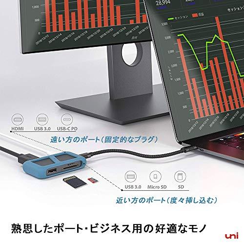 514rKIqcbIL-「uni USB Type-C HUB 8ポート」を購入したのでレビュー!Chromebookにちょうど良いUSB-Cハブ