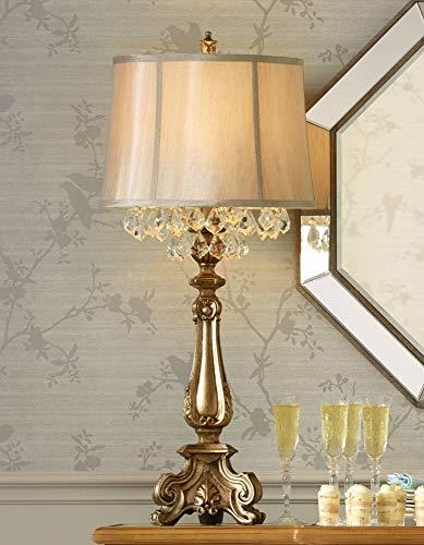 Dubois Crystal Spray Console Table Lamp