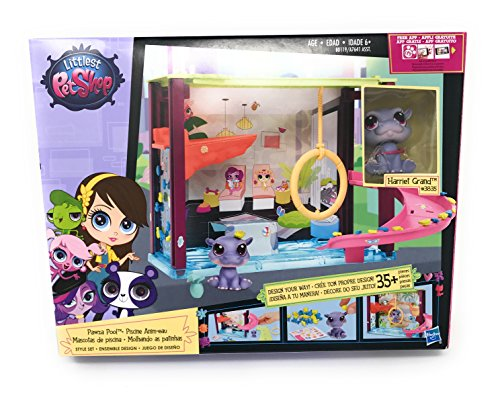 『Girl Toys Bundle Toys Littlest Pet Shop Dance Club Discoteca and Littlest Pet Shop - Style your Way Playset - Pawza Pool』の3枚目の画像