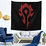Wow Horde Distressed Tapestry Wall Hanging Tapestries As Wall Blanket Wall Art And Decoration For Bedroom Living Room Dorm 59x59 Inch
