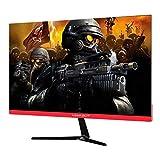 KeepOut XGM24 Pantalla para PC 60,5 cm (23.8') Full HD Plana Negro, Rojo - Monitor (60,5 cm (23.8'), 1920 x 1080 Pixeles, Full HD, LED, 5 ms, Negro, Rojo)
