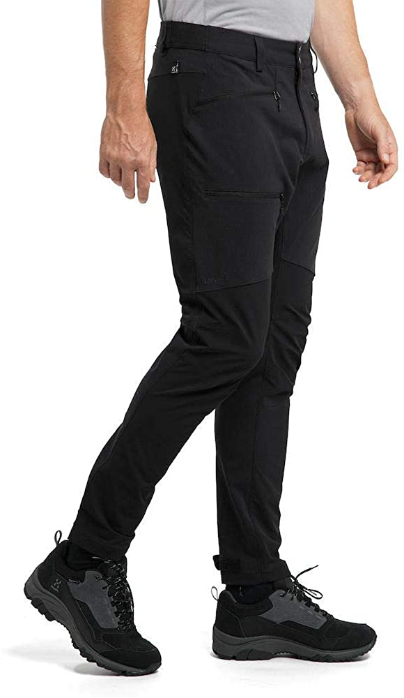 Haglöfs Rugged Flex - Pantalons - Straight - Homme 2vt - True Black