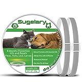 Sugelary Collar Antiparasitario para Perros Gatos, Protecci�