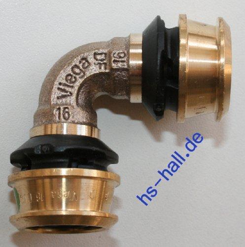 Viega Raxofix Bogen Winkel 90° 16 mm Pressfitting