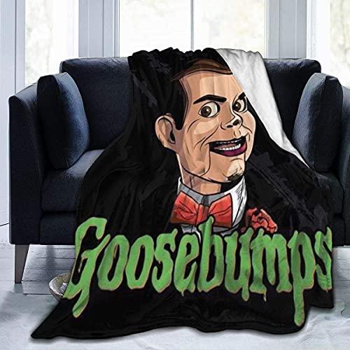 Slappy Goosebumps - Manta de microfibra de forro polar ultra suave para vacaciones, invierno, cabina, mantas cálidas