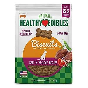 Nylabone Healthy Edibles Biscuits Grain Free Dog Treats