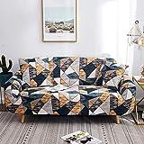 Fodere copridivano 2 posti con 2 Fodere per cuscini Copridivano per divano Elastica Regola...