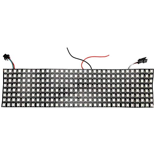 bobotron Panel de matriz LED, WS2812B RGB 832, digital, flexible, pantalla LED personalizable