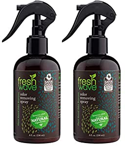 Fresh Wave Odor Eliminator Spray & Air Freshener, 8 fl. oz, Natural Ingredients (Pack of 2)