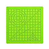3D Printing Pen Silicone Design Mat Great 3D Pen Drawing Tools with 2 Silicone Finger Caps Stencils Book for Beginners and Children(Green)