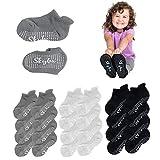 Skyba Kleinkindsocken mit Griffen, Trampolin-Socken – Hausschuhe für Kinder, Mädchen, Jungen,...