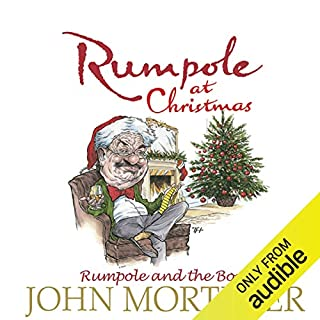 Rumpole at Christmas audiobook cover art