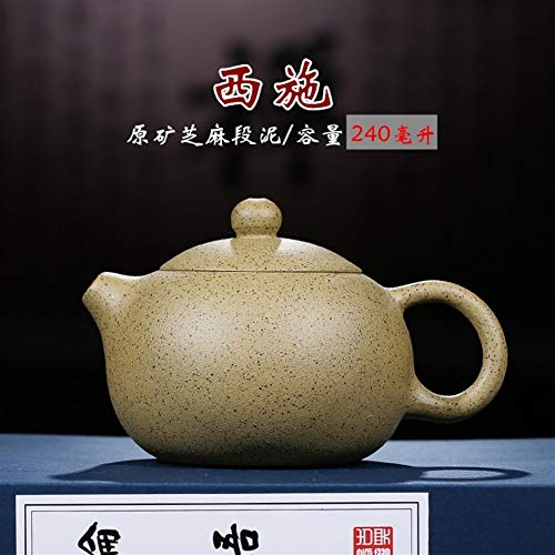 HuiLai Zhang Boutique - Tetera de barro sésamo Barro morado