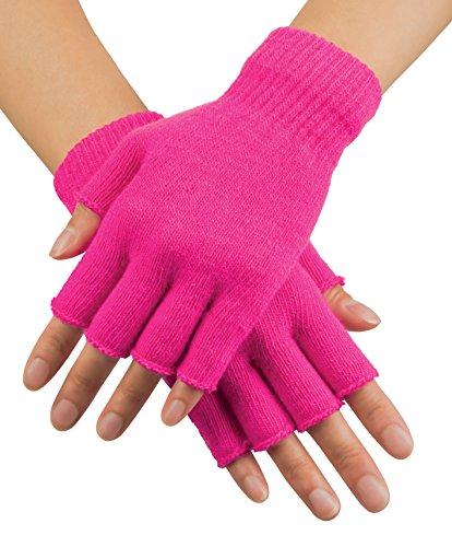 Boland 01906Handschuhe Fingerless, Pink, Einheitsgröße