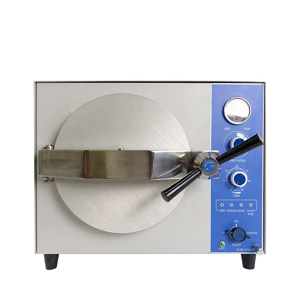 20L Table Top NEW before selling Steam Mail order cheap Sterilizer Laboratory Ma Autoclave