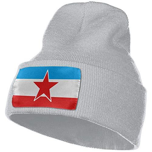 AEMAPE Unisex Beanie Hat Yugoslavia Knit Hat Cap Skull Cap