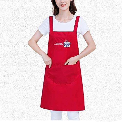LYDCX Tablier Ménage Cuisine Taille Cuisine Japonaise Respirant Vêtements De Travail Bavoir