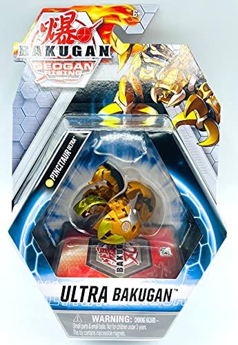 Bakugan Ultra, 3-inch Tall Geogan Rising Collectible Action Figure and Trading Card (Aurelus Pincitaur)