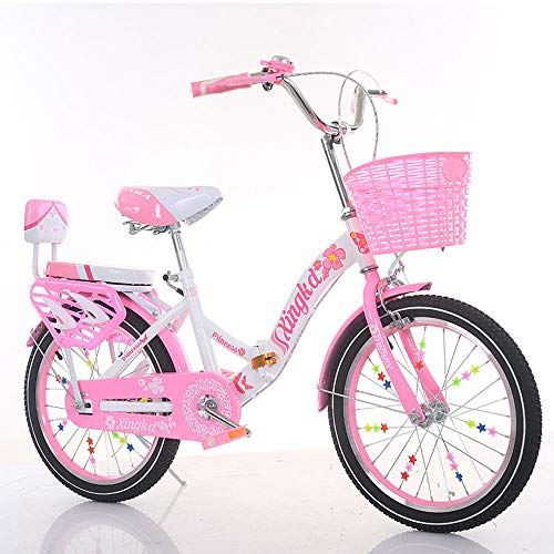 TATANE Faltbares Kinderfahrrad, Mädchenfahrrad, 18/20-Zoll-Faltfahrräder Für Erwachsene, Studenten-Single-Speed-Rennrad,2,18 inches