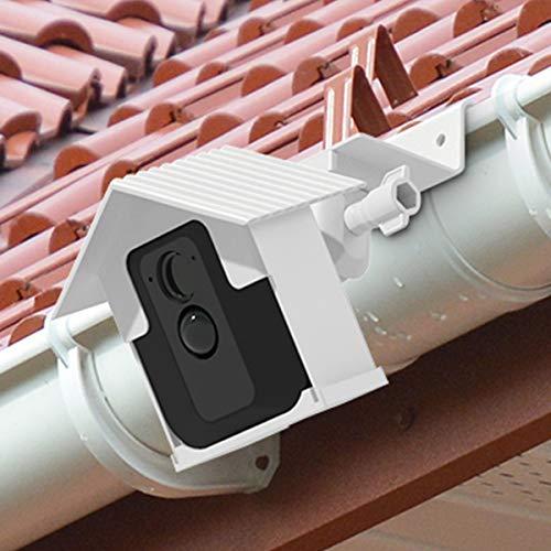 BECROWMEU Regenrinnenhalterung für Blink XT, bessere Höhe, Beste Betrachtungswinkel für Ihre Blink Home Überwachungskamera, 1 Stück