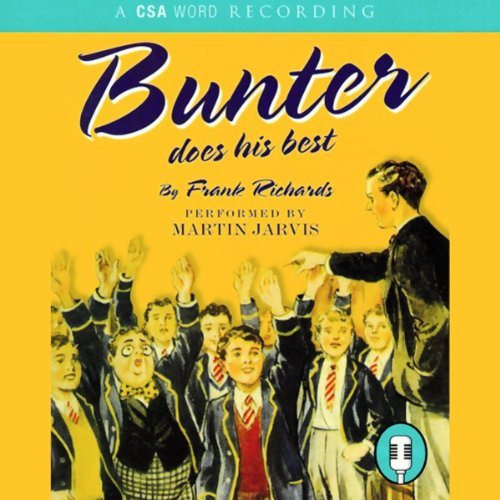 Bunter Does His Best audiobook cover art