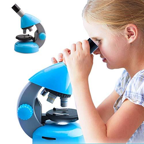 Microscopio Caja Niños Ciencia, pequeños juguetes del Estudiante, Profesional Biológica microscopio óptico, de 35 años de prueba, 800 capas de alta definición de imagen, completo Juego de accesorio