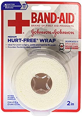 Band-Aid Hurt Free Wrap by Band-Aid