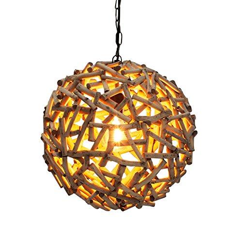 *Massive Hängeleuchte PURE NATURE 40cm Treibholz Handarbeit Pendelleuchte Esszimmerbeleuchtung Hängelampe*